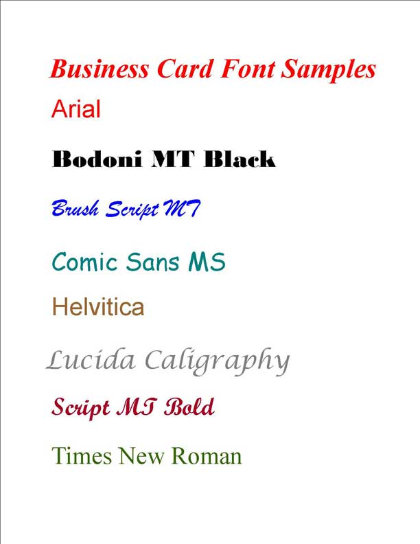 RonDon Consulting Custom Business Cards